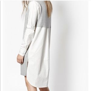 French Connection Naomi Knit Shirt Dress S